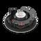 "C283LP - Black - 8"" Low-profile in-ceiling loudspeaker - Detailshot 3"