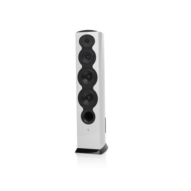 F206 - White - 3-Way Floorstanding Tower Loudspeaker - Hero