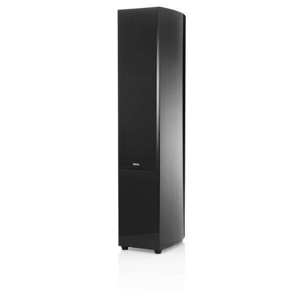 """F36 - Black - 2 1/2-way Triple 6.5"""" Floorstanding Loudspeaker - Hero"""