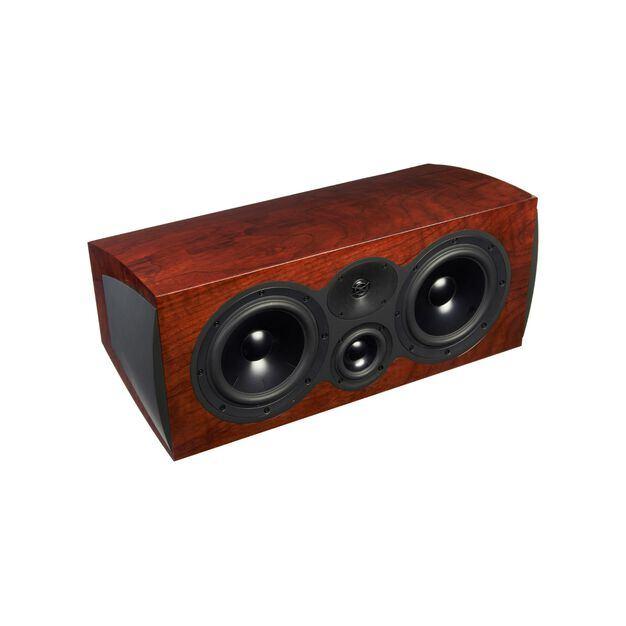 C208 - Walnut - 3-way Center Channel Loudspeaker - Hero