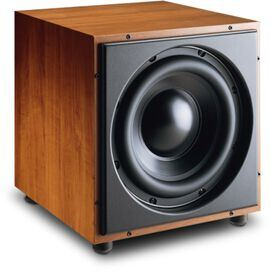 B12 - Cherry - 10-Inch High-Performance Powered Subwoofer - Hero