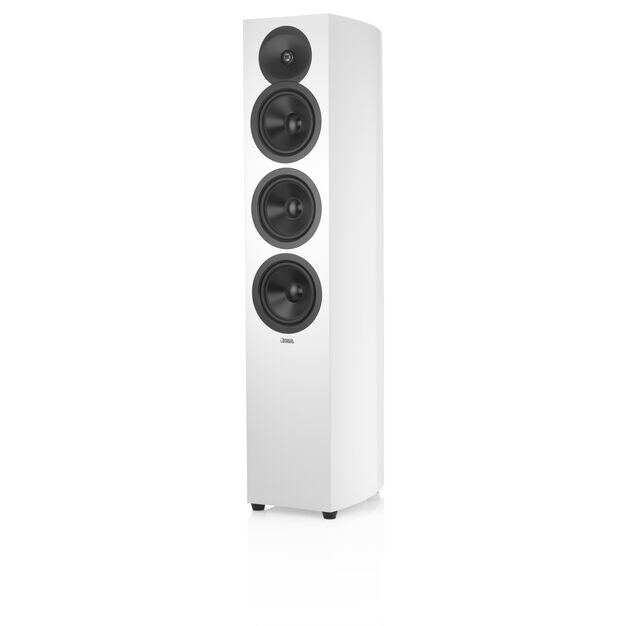 """F36 - White - 2 1/2-way Triple 6.5"""" Floorstanding Loudspeaker - Hero"""