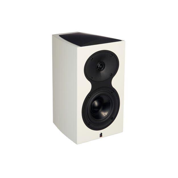 M105 - White - 2-Way Bookshelf Monitor Loudspeaker - Hero