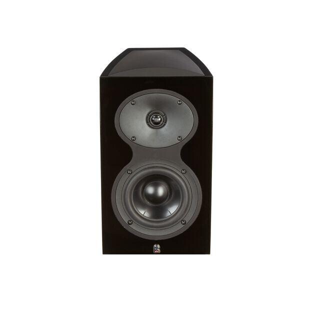 M105 - Black - 2-Way Bookshelf Monitor Loudspeaker - Hero
