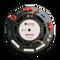 """C583 - Black - 8"""" In-Ceiling Loudspeaker - Back"""