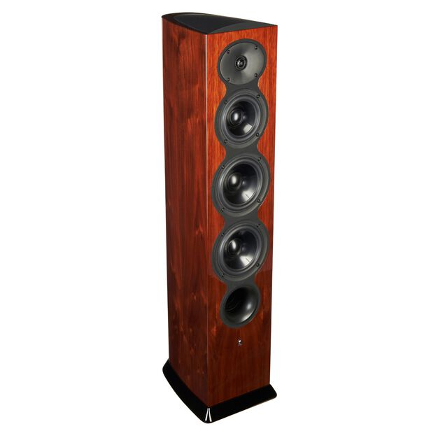 F206 - Walnut - 3-Way Floorstanding Tower Loudspeaker - Hero