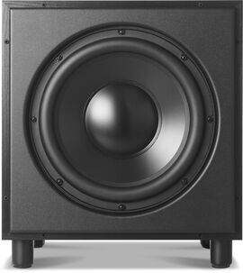 B120 - Black Ash - High-Performance Powered Subwoofer - Hero
