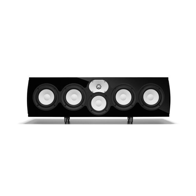 "C426Be - Black Gloss - 3-Way Quadruple 6.5"" Center Channel Loudspeaker - Hero"