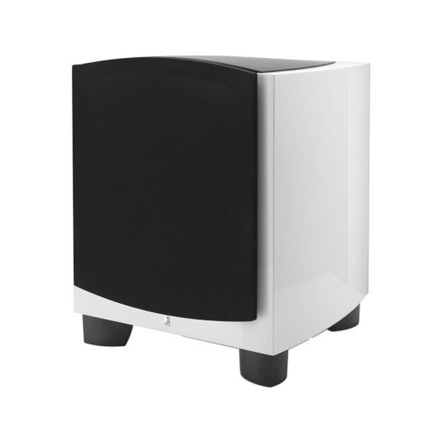 "B112v2 - White - 12"" 1000W Powered Subwoofer - Hero"