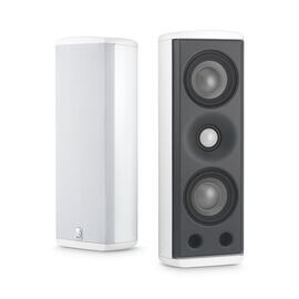 M8 - White - Concerta Series, 2-Way On-Wall Loudspeaker - Hero