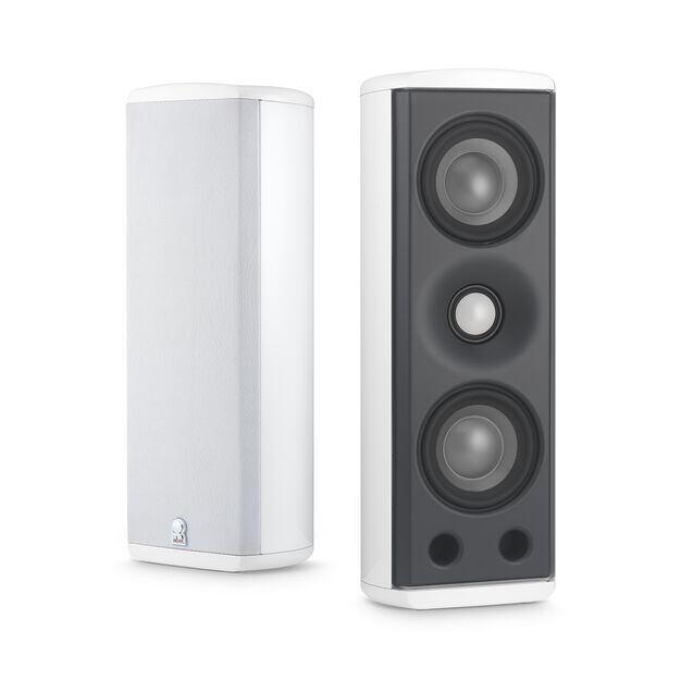 M8 - White - Concerta Series, 2-Way On-Wall Loudspeaker - Hero