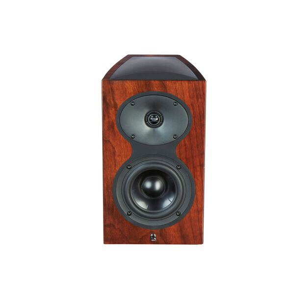 M105 - Walnut - 2-Way Bookshelf Monitor Loudspeaker - Hero