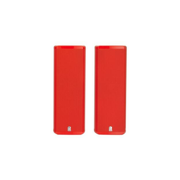 M8 SP2 - Red Gloss - 2-channel Home Theater Sound Support System - Hero