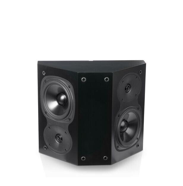 S206 - Black - 2-Way Surround Loudspeaker - Hero
