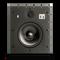 """W873 - White - 7"""" In-Wall Loudspeaker - Front"""