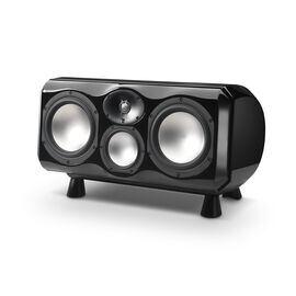 Voice2 - Black Gloss - Ultima2 Loudspeaker Series, 3-Way Center Channel Loudspeaker - Hero