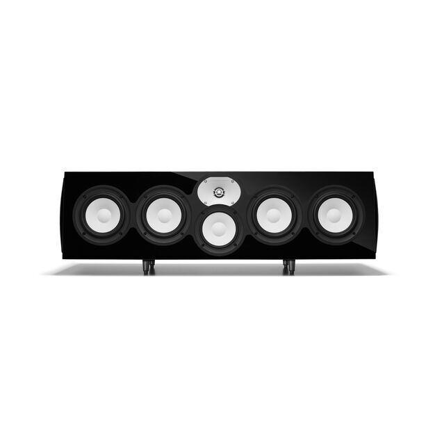 """C426Be - Black Gloss - 3-Way Quadruple 6.5"""" Center Channel Loudspeaker - Hero"""