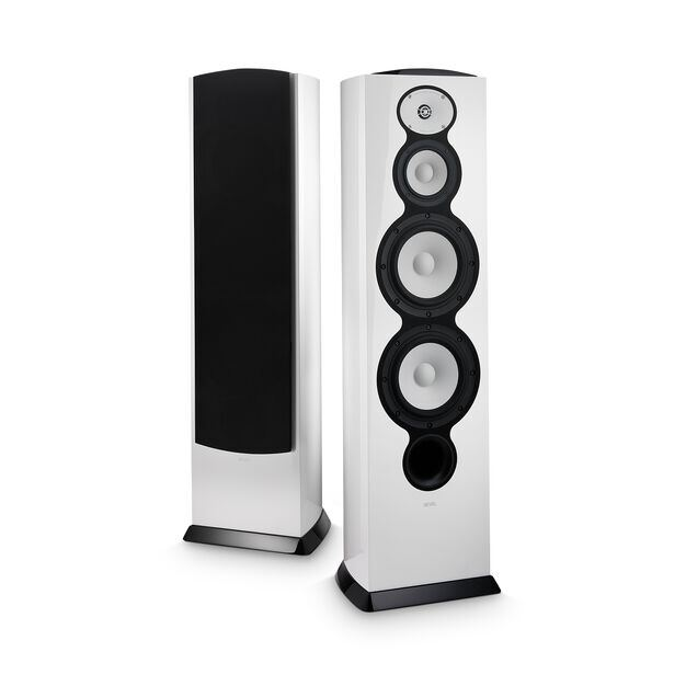 "F228Be - White - 3-way Dual 8"" Floorstanding Loudspeaker - Hero"