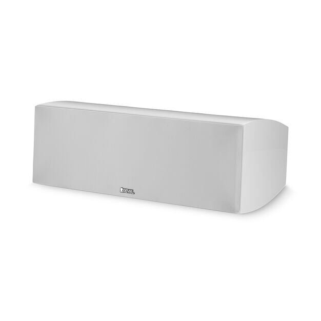 "C25 - White - 2-way Dual 5.25"" Center Channel Loudspeaker - Hero"