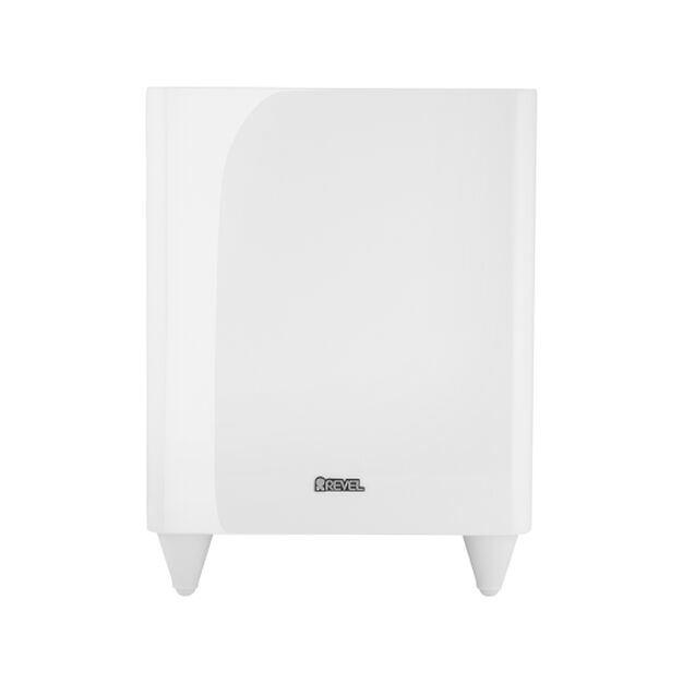B8 - White - Wireless Subwoofer - Hero