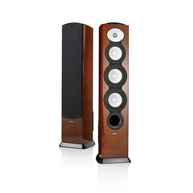 "F226BE - Walnut - 3-Way Dual 6"" Floorstanding Loudspeaker - Hero"