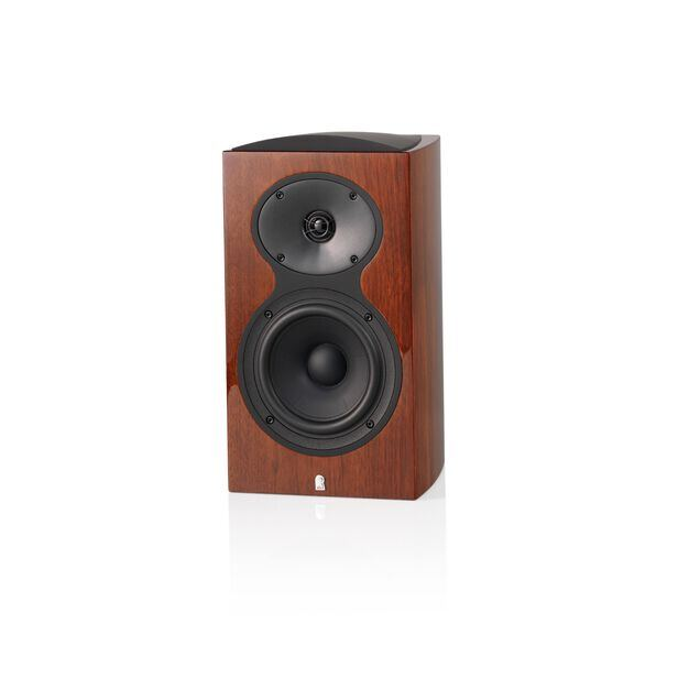 M106 - Walnut - 2-Way Bookshelf Monitor Loudspeaker - Hero