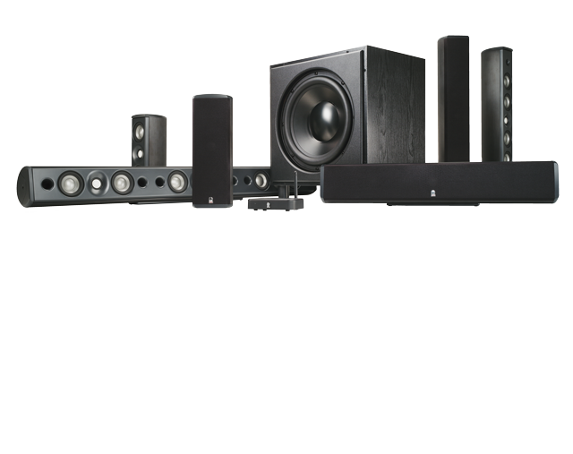 Revel Concerta On-wall Series: M10, M8, C10, LCR8, B120
